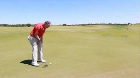 Get Long Putts Close On Fast Greens