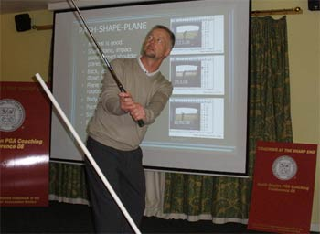 North Region P.G.A. Coaching Conference A Big Hit