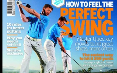 """Adrian Talks about """"Feeling the Swing"""" in Today's Golfer Magazine"""