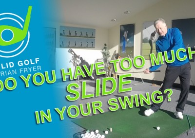 Do You Have Too Much SLIDE In Your Golf Swing?