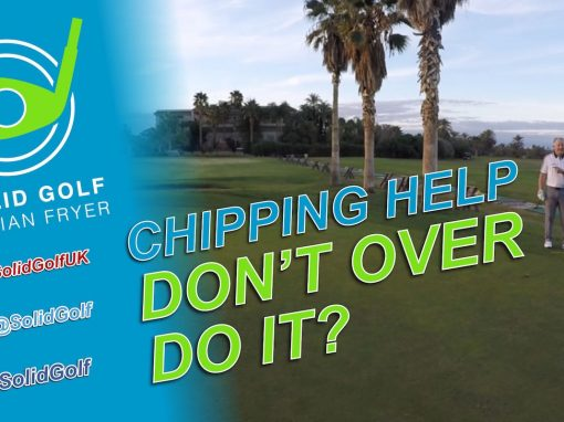 Chipping Help – Dont Over Do It